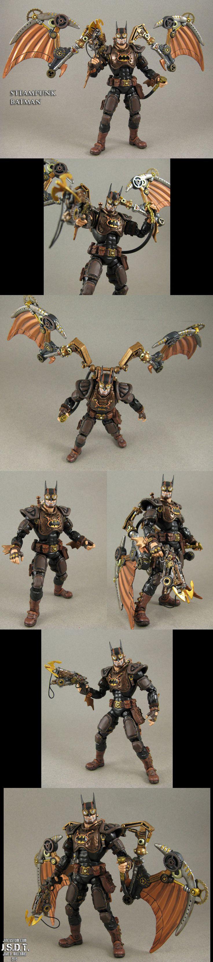 Steampunk Batman Custom action figure by *Jin-Saotome on deviantART