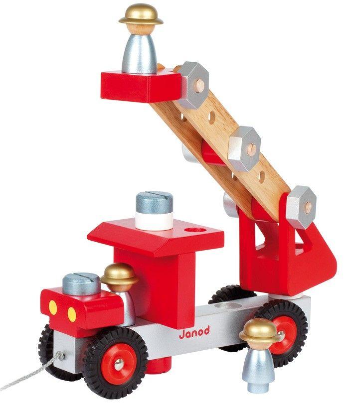 Janod - DIY Tool Kit Fire Truck