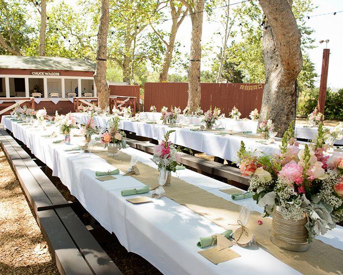 Juta no seu casamento - mesa campo