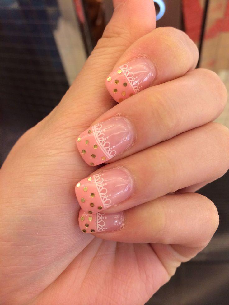 Pretty & Girly Gel Nail #gelnail #nail #nailart