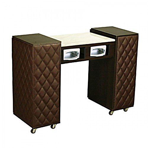 $395 Le Beau Aussi UV Manicure Table Chocolate A , Https://www. Nail Salon  FurnitureNail ...