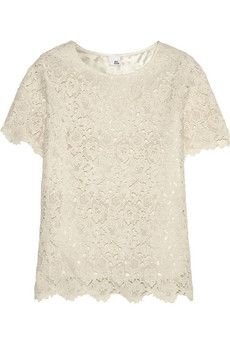 Iris  Ink Alice cotton-lace top