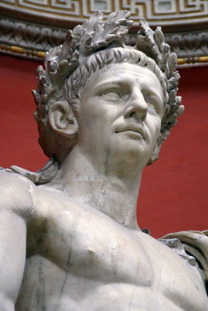 Vatikanische Museen, Museo Pio Clementino, Sala Rotonda, Kaiser Claudius (Emperor Claudius)