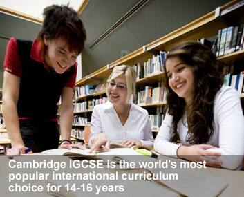 Cambridge - US course syllabus - The world's most popular international curriculum choice for 14 - 16 years