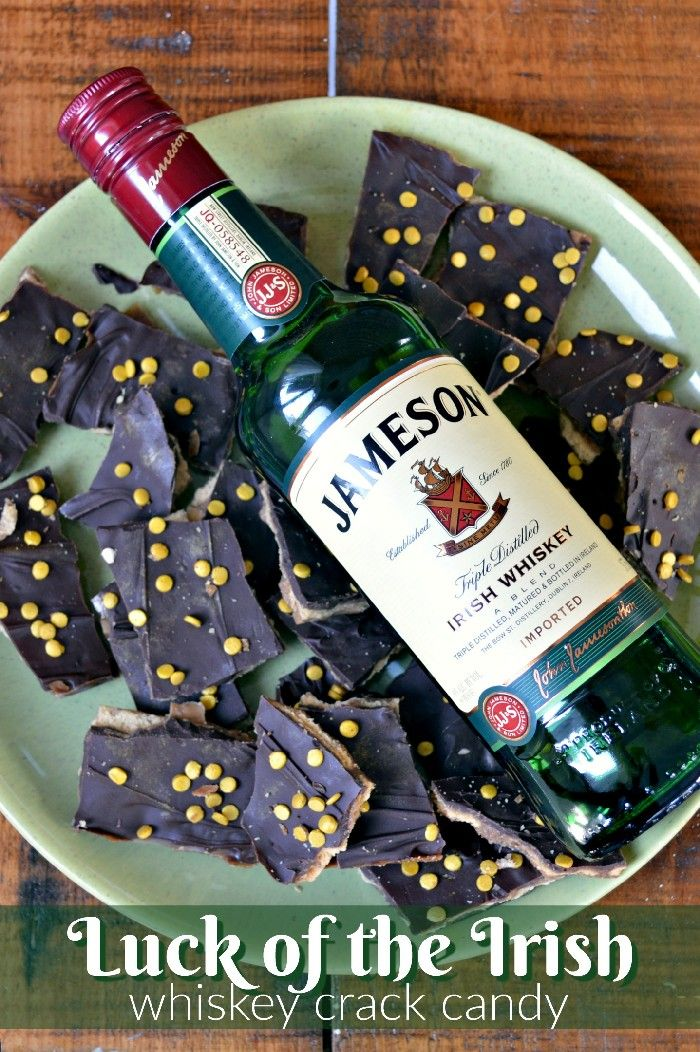 LUCK OF THE IRISH WHISKEY CRACK CANDY