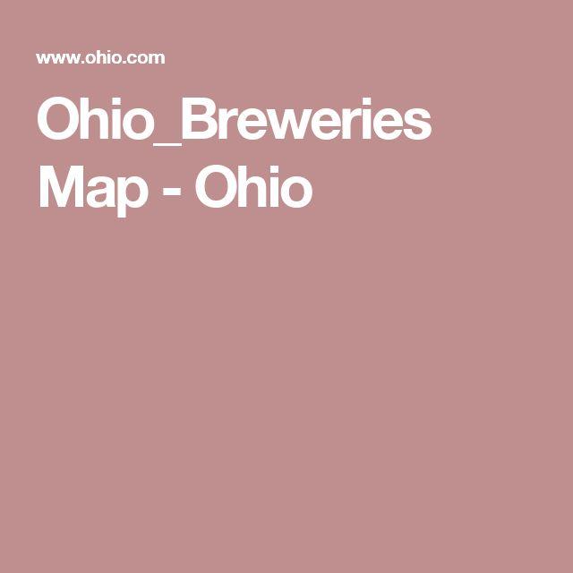Ohio_Breweries Map - Ohio