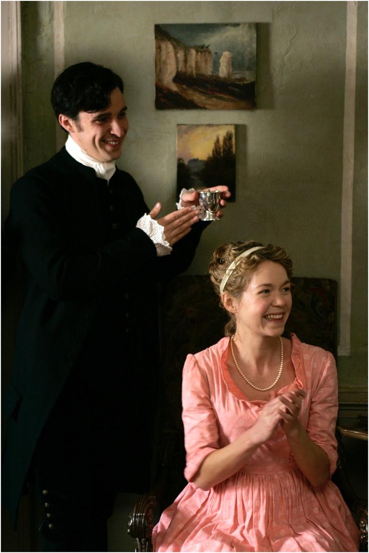 Tom Vaughan-Lawlor (Robert Fowle) and Anna Maxwell Martin (Cassandra Austen) - Becoming Jane directed by Julian Jarrold (2007) #janeausten