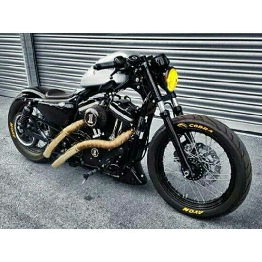 how to build a sportster bobber