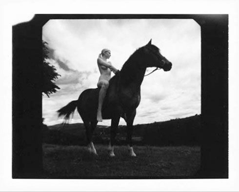Rankin has shot 1,000 Polaroid photographs of the company's old-timey Easter Elchies House estate.