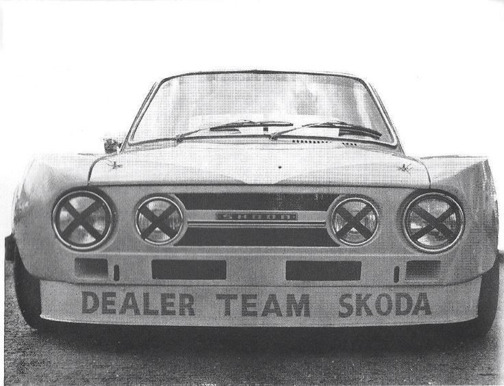 Skoda 120 RS Racecar
