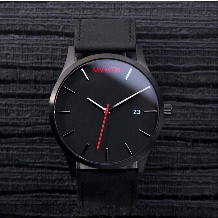 MVMT Black is back, get yours at www.watchfelt.dk