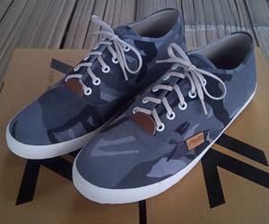 Sepatu Loreng awl SlipOn Model vans type C-02