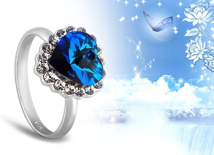 diseño famours Corazon Azul