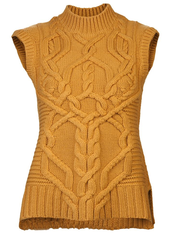 DEREK LAM - Cable  Knit Sweater