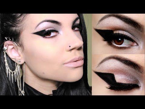 Eyeliner nero grafico con gel - VideoTrucco