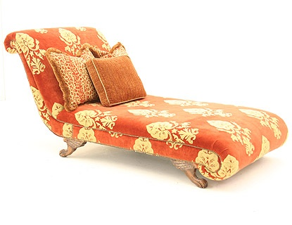 1000 images about orange my favorite color on pinterest for Burnt orange chaise lounge