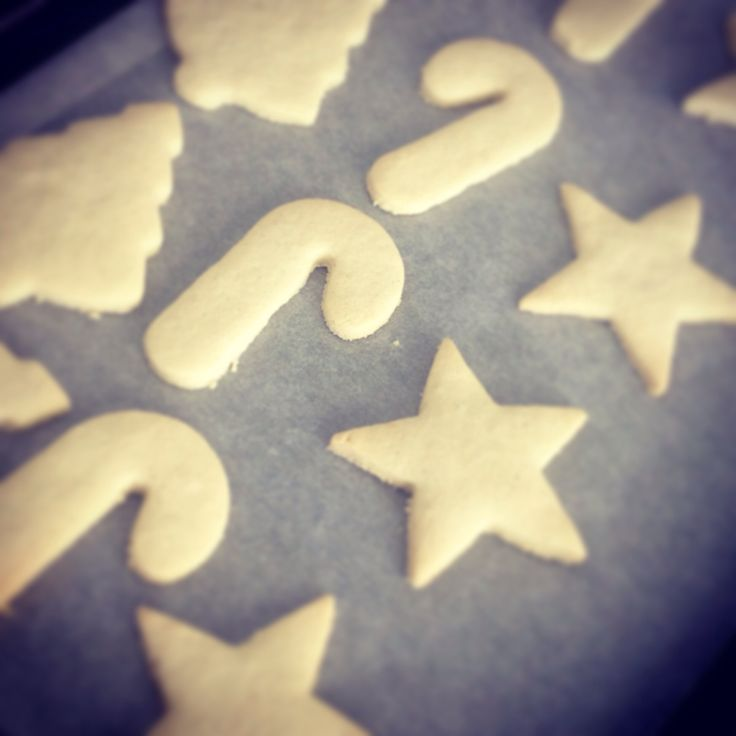 Gluten and dairy free cookies - without the icing