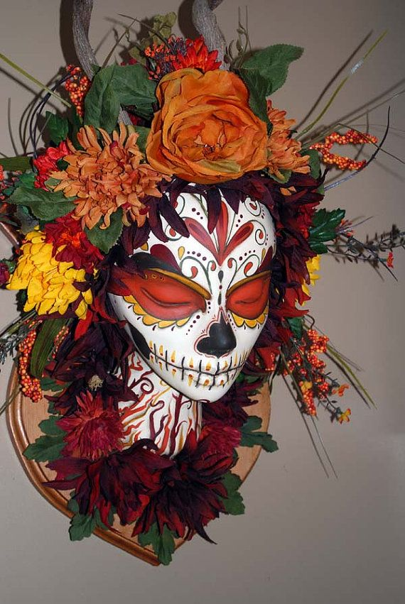 1000 Images About Wreaths Day Of The Dead On Pinterest