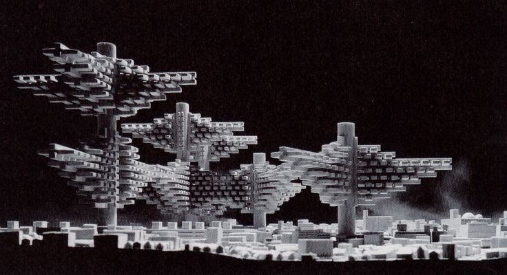 """""""Future City"""" by Japanese Metabolists"""