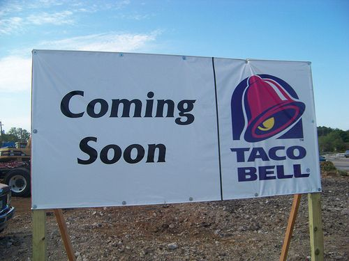 When the closest Taco Bell is 400 miles away, people apparently get pretty excited when the chain announces plans to open up right in their very own town. At least that's what happened in Bethel, Alaska — population 6,080 — when fliers announcing Taco Bell's arrival — complete with a fake phone number and website — started appearing all over town.    But, alas, it was a hoax perpetrated by some cruel pranksters.