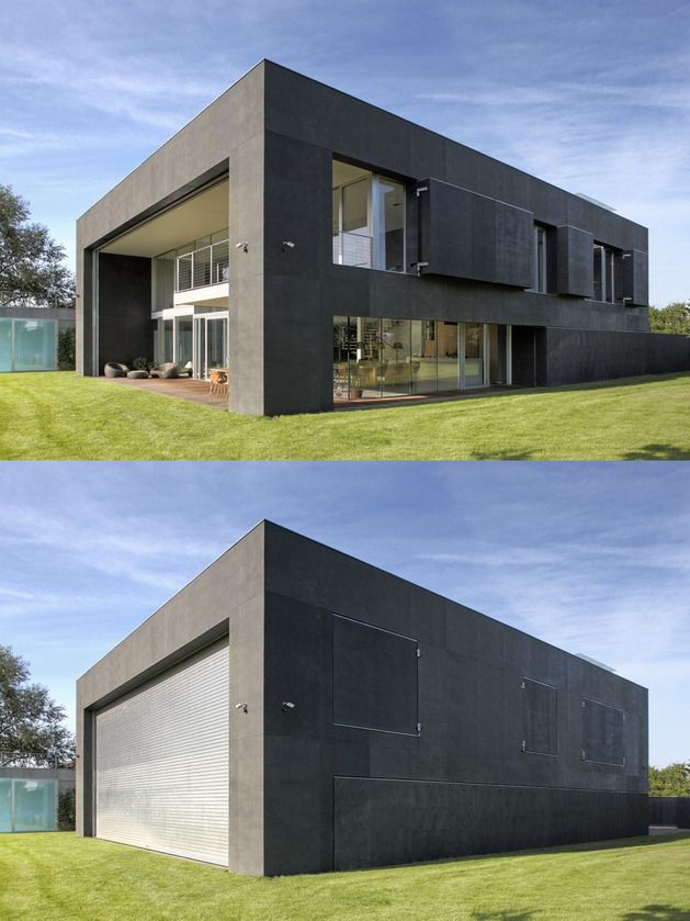 Safe House Amazing Home Closes Into Solid Concrete Cube Zombie Proof Modern Design