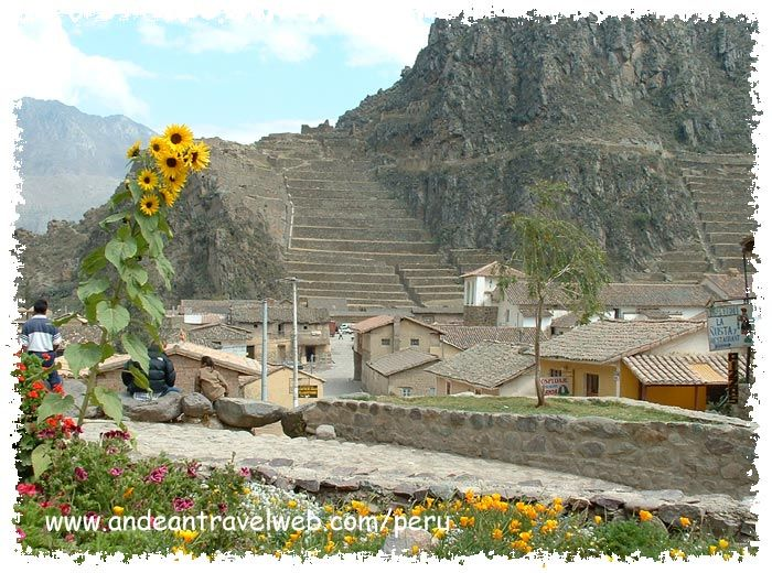 Ollantaytambo, Peru - also one of my favourite spanish words to say! :)