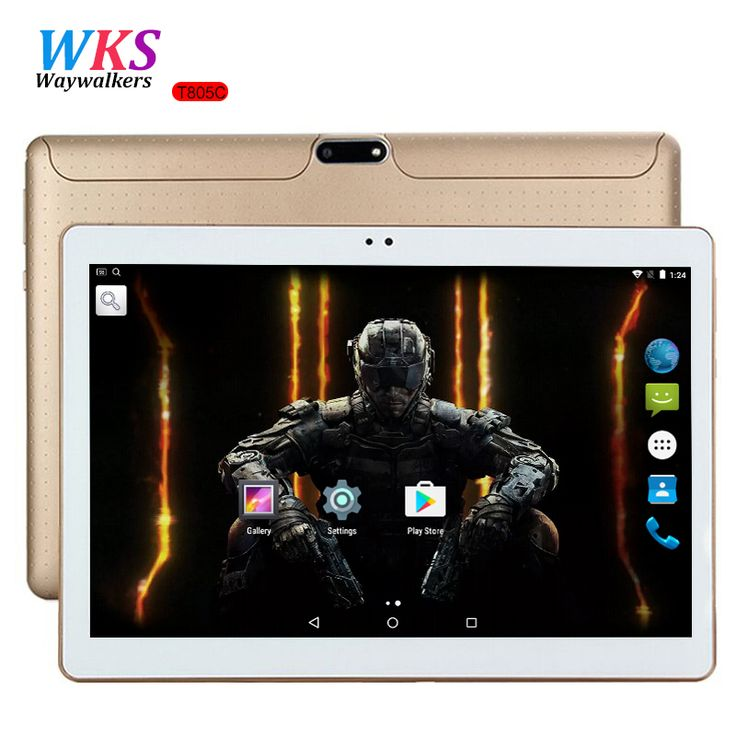 10 inch tablet PC Octa Core Android 7.0 4GB RAM 64GB ROM 8 Core Dual SIM Card GPS Bluetooth Call phone Gifts MID Tablets 10 10.1  Price: 101.01 USD