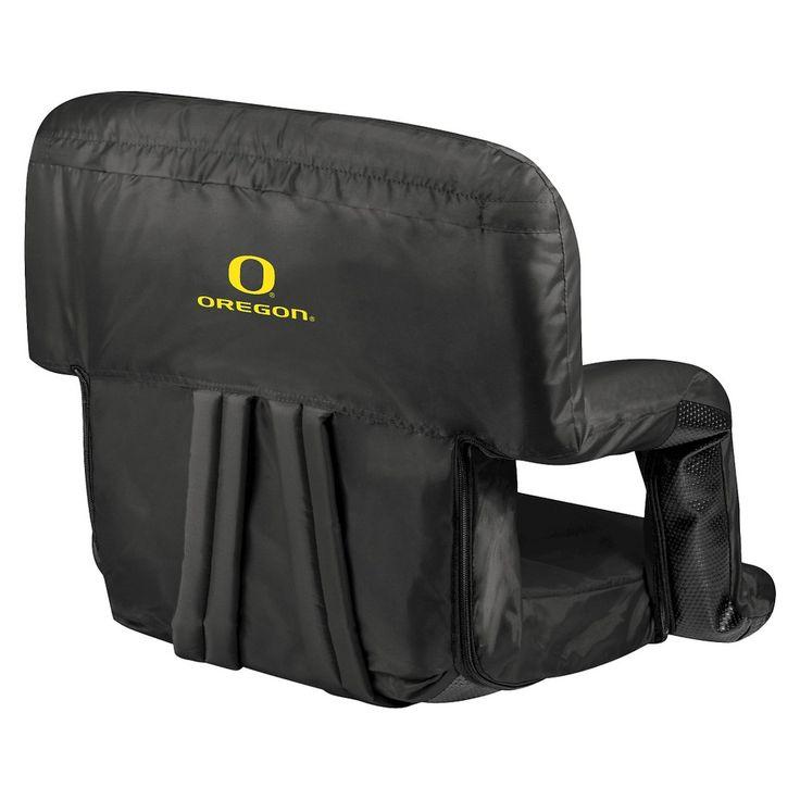 Portable Stadium Seats NCAA Oregon Ducks Black