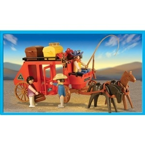 Playmobil 13245 Western Red Stage Coach_Antex Argentina // Not available - Shipping worldwide