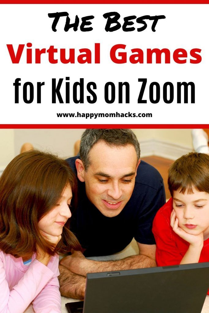 15 Best Games To Play On Zoom With Kids Happy Mom Hacks In 2020 Virtual Games For Kids Cool Games To Play Games To Play With Kids