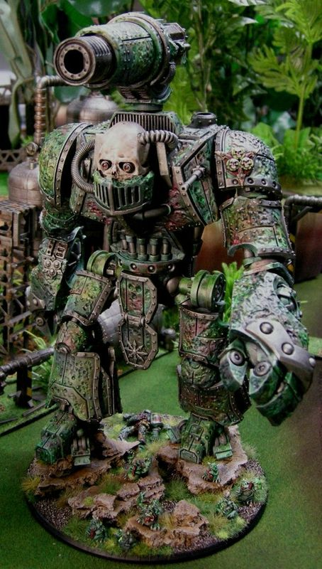 Alaric Blog - nurgle knight 2