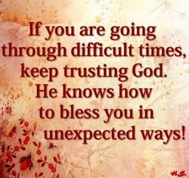 god quotes about hard times - photo #16