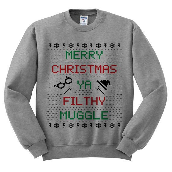 This one, because all we really want for Christmas is our Hogwarts letters.   24 Amazing Christmas Sweaters You Simply Must Have