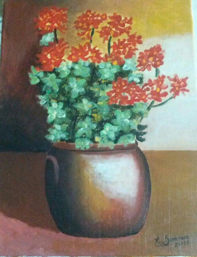 Vaso di fiori in acrilico