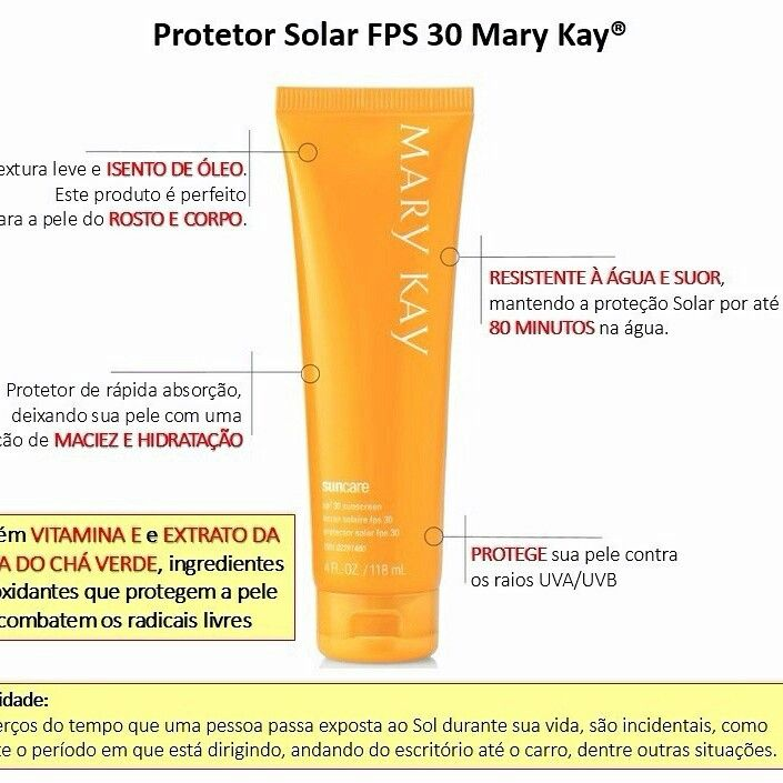 Protetor solar mary kay                                                                                                                                                                                 Mais