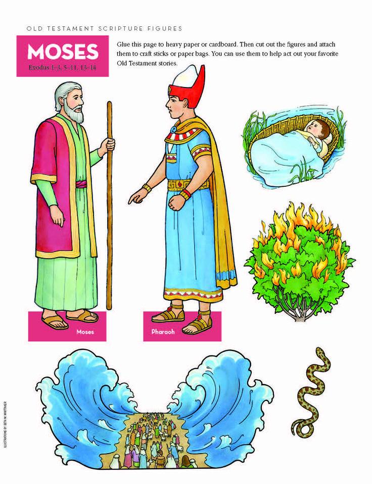 Old Testament scripture figures--Moses