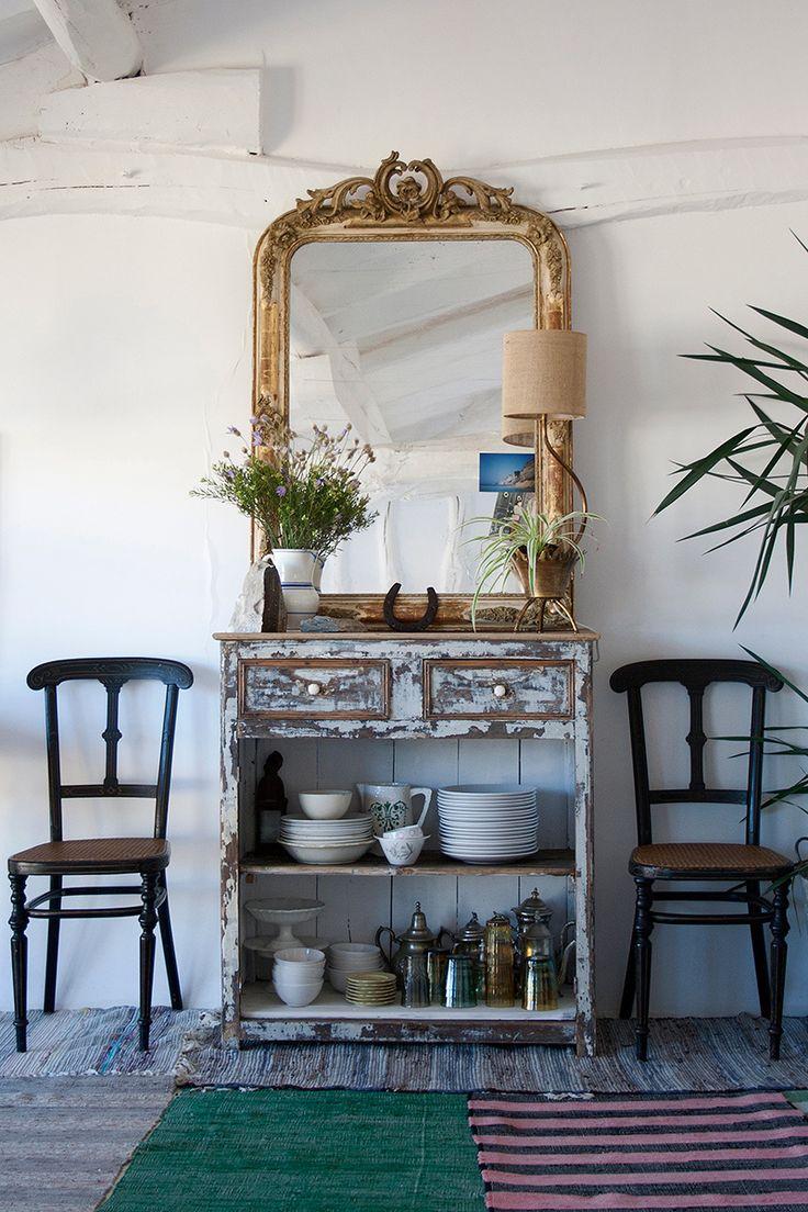 Miroir Bois Flotte Casa : Miroirs Rustiques sur Pinterest Miroir De Fen?tre, Miroirs et