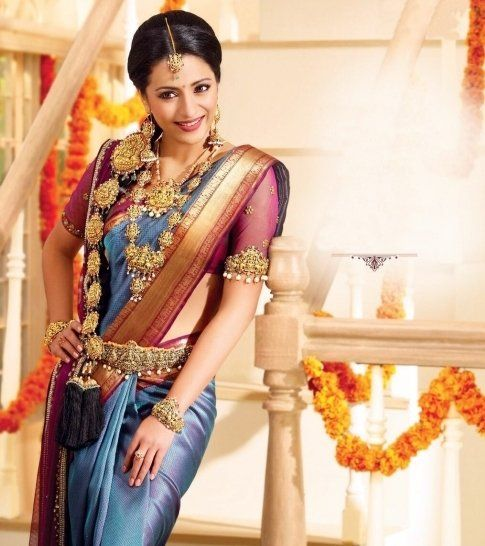 South Indian Jewellery Designs For Brides To Look Drop: Trisha Krishnan #6
