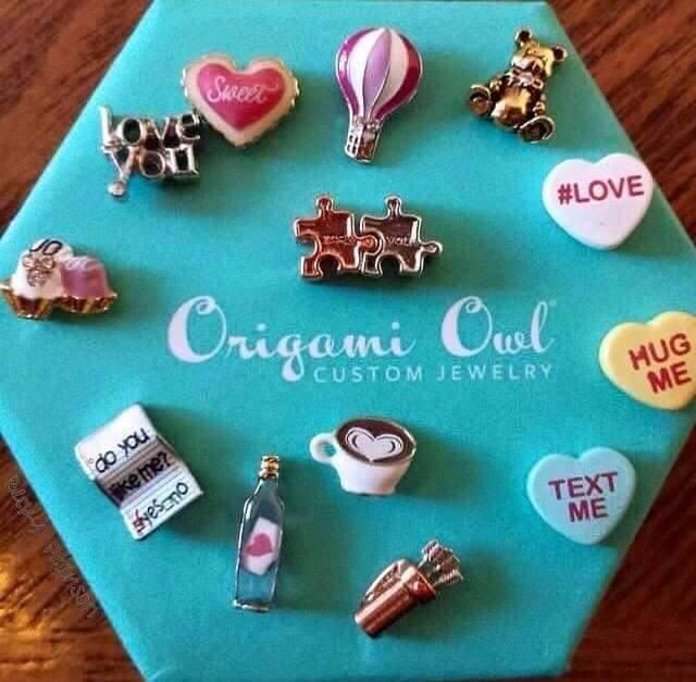 Valentines Day Charms!  So Cute available now for your Origami Owl Locket! www.lovemyO2.OrigamiOwl.com