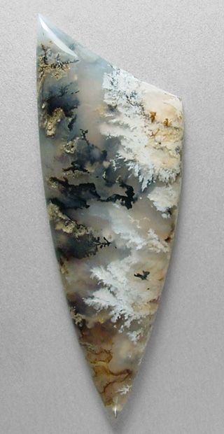 Sheep Creek plume agate