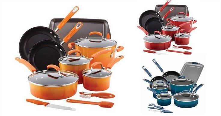 BOOM! Rachael Ray Cookware sets just $9! (were $99!) GO GO! - http://yeswecoupon.com/boom-rachael-ray-cookware-sets-just-9-were-99-go-go/?Pinterest  #Clearance, #Couponcommunity, #Couponfamily, #Walmart, #Walmartclearance, #Walmartdeals