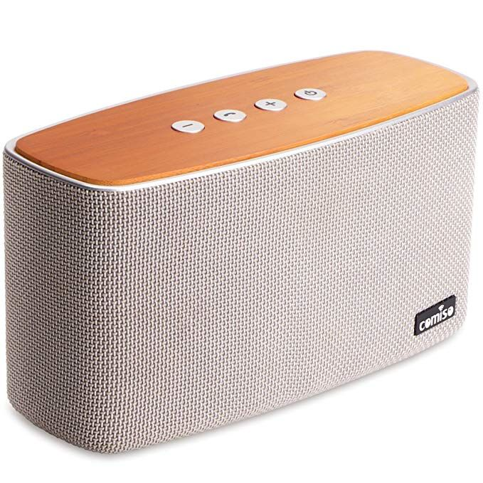 Comiso Natureaudio 30w Bluetooth Speakers House In The Woods Home Speakers Bluetooth