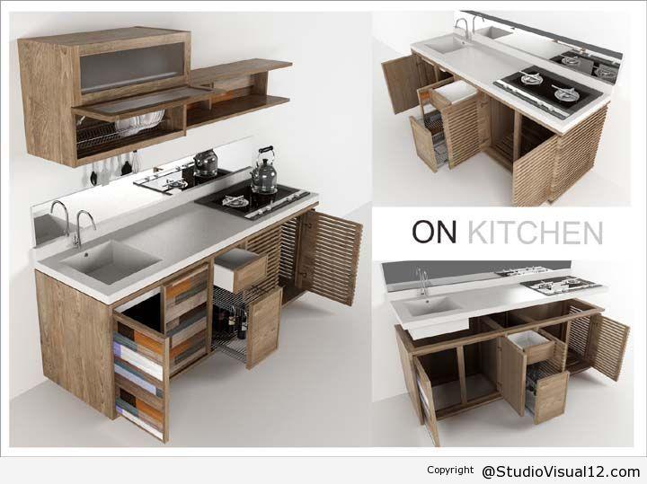 On Kitchen Desain Furniture