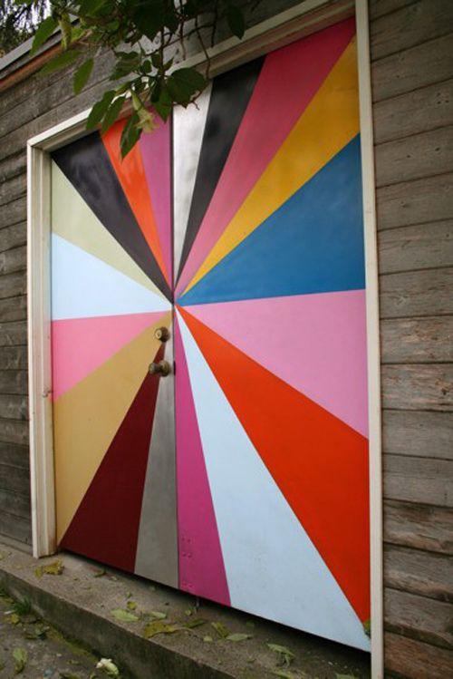 doors: Idea, Garage Doors, Garages, Front Doors, House, Design