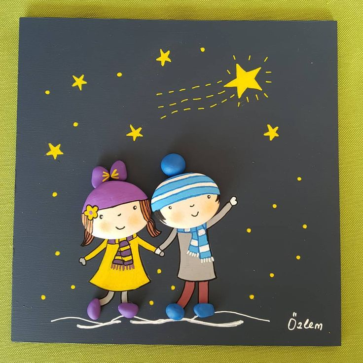 Her şey çocuklar için...Dilek tutalım ve terör, savaş, katliamlar son bulsun. 20x20 cm. #tasboyama #tasboyamasanati #tablo #paintingrocks #stoneart #handmade #paint #elyapimi #kisiyeozelhediye #sevgi #ask #yildiz #dilek #creative #sanat #genclik #dekorasyon #homedecor #enfants #children #satilik #siparisalinir