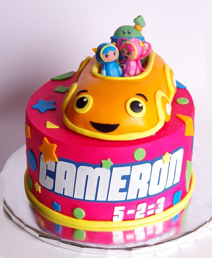 Team Umizoomi Cake Ideas