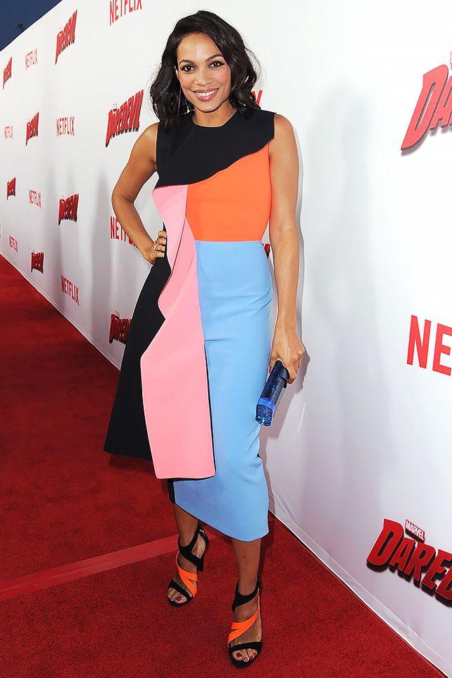 Розарио Доусон в платье Roksanda на премьере сериала «Сорвиголова» в Лос-Анджелесе
