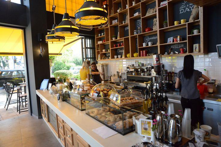 Bruno Coffee Stores | by Dimitris Koukoudis Architect