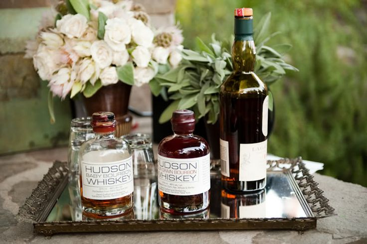 Ojai celebrity wedding with Hudson Whiskey from the Hudson Valley!!