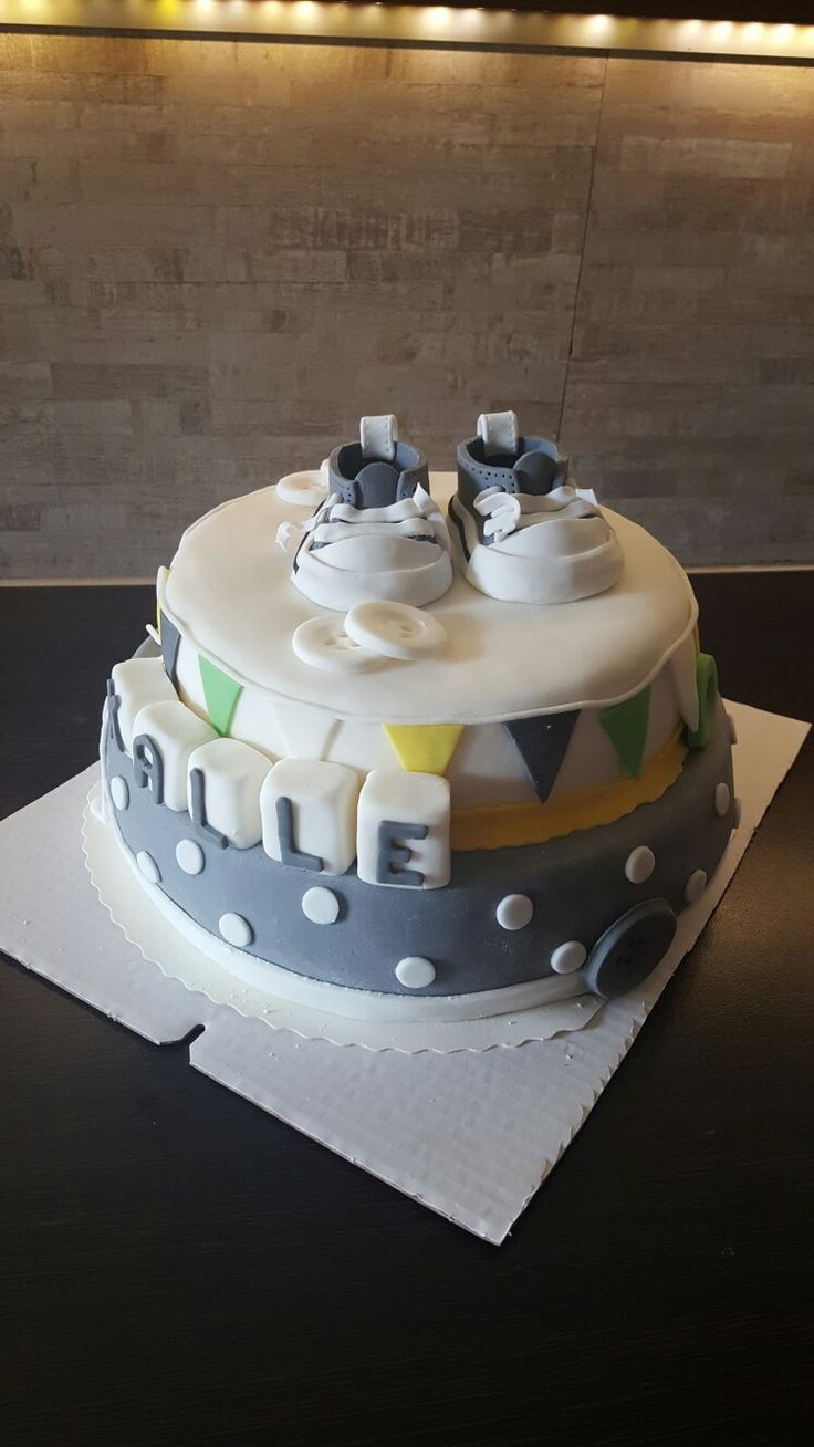 Baby cake for boy